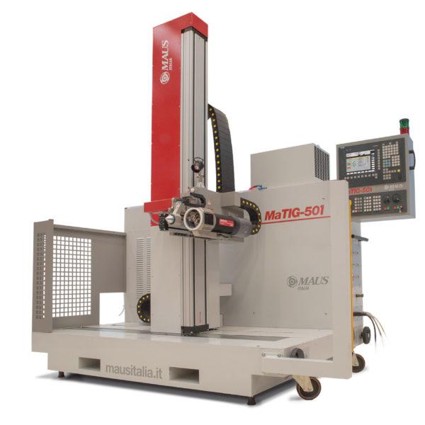 Automat MaTIG 501 do spawania rur z płytą sitową
