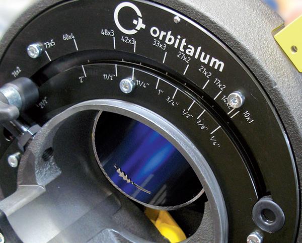 Przecinarka i ukosowarka do rur GFX 3.0 GFX 6.6 - Orbitalum Tools