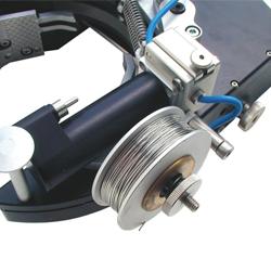 Podajnik drutu KD3 w głowicy TP - Orbitalum Tools
