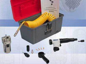 Rozwalcarka pneumatyczna MINIROL - elementy dostawy - Maus Italia