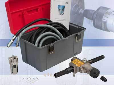 Rozwalcarka pneumatyczna MACROL - elementy dostawy - Maus Italia