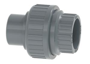 System klejony PVC-U - Dwuzłączka - Georg Fischer