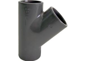 System klejony PVC-U - Trójnik 45 - Georg Fischer