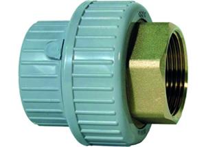 System klejony PVC-C - Dwuzłączka PVCC-STAL - Georg Fischer