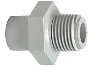 System klejony PVC-C - Element przejściowy nyplowo-mufowy - Georg Fischer