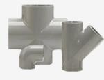 System klejony PVC-C - Kształtki - Georg Fischer