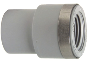 System klejony PVC-C - Mufa przejściowa redukcyjna z gwintem Rp - Georg Fischer