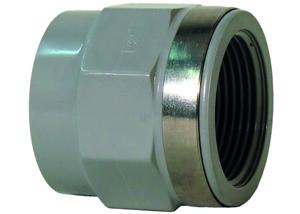System klejony PVC-C - Mufa przejściowa z gwintem Rp - Georg Fischer