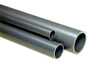 System rurowy PVC-C - Rury PN 16 szare - Georg Fischer
