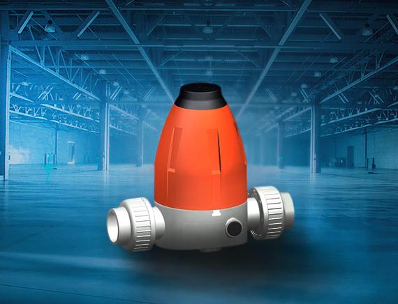 System klejony GF PVC-C - Zawory rredukujące i utrzymujące ciśnienie 582 i 586 - Georg Fischer