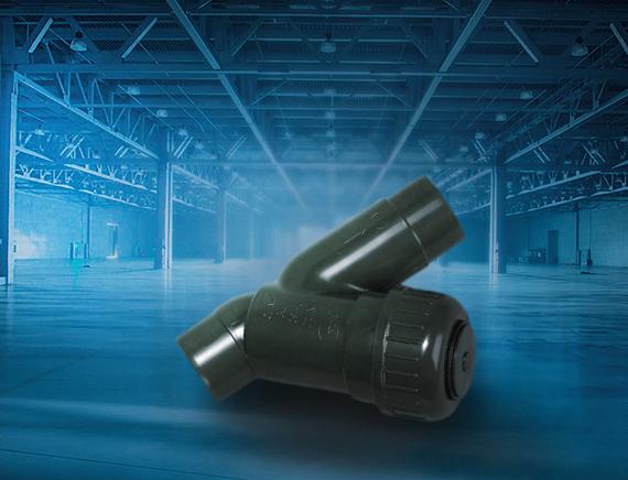 System klejony GF PVC-U - Filtr siatkowy typ 305 - Georg Fischer
