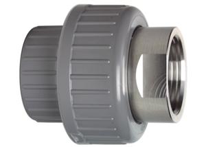 System klejony ABS - Dwuzłączka ABS-STAL - Georg Fischer